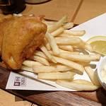 YEBISU BAR - 真鯛のフィッシュ&チップス     ¥900