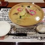 グラングラシェ - 料理写真:網走ちゃんぽん(税込1,000円)