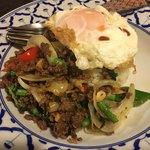 タイの食卓 パクチータイ - パッカパオ(1080円)