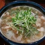 ひまわり - 男の肉そば780円