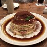 91028122 - 北海道産マスカルポーネのティラミスパンケーキ(レギュラーサイズ)♪