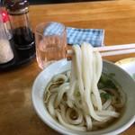 野口うどん - 今日の麺は凄く良い 生地は生き物っていうけど日により多少の変化がある