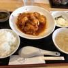 みわ亭 - 料理写真:特製エビのピリ辛ソースランチ800円