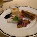 ケーヨシダ - 料理写真:前菜