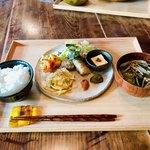 Cafe はまぐり堂 - はまぐりセット 1,650円 丁寧に作られた身体に良さそうなお惣菜^ ^