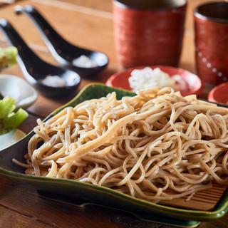 常陸秋蕎麦せいろ十割(ひたちあきそば)