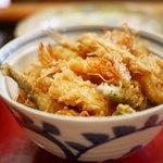 ねぎ坊主 - 天丼
