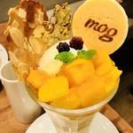 91034430 - 完熟マンゴーの南国パンケーキパフェ♡