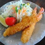和風れすとらん おぎの - 料理写真:海老フライ