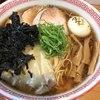 麺切り 白流 - 料理写真:特製中華そば、大盛、黒ばら海苔TP