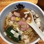 中華そば 満鶏軒 - 料理写真:鴨中華蕎麦(醤油)