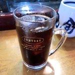 寿司鉄 - 寿司鉄 @平和台 食後のアイスコーヒー
