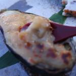 烹祥庵 - ■焼物 京茄子 鶏味噌焼き