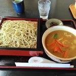 長寿庵 - 料理写真:カレーがどーん