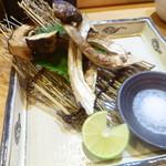 鮨 ひでぞう - 松茸焼き