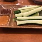 酒道楽こけこっこ - 野菜も食べなあきません!