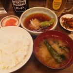 天ぷら食堂 若鷹 - (2018年08月)