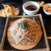 食事処 まるはち - 料理写真:山形そばげそ天ざる