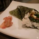きむら庵 - 【手巻き寿司】牛肉ステーキ \550