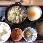 角打 - 牛鍋定食(750円)