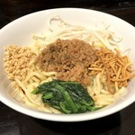 ほうきぼし+ - 汁なし担々麺(850円)