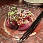 resort dining Se Relaxer - 生カツオのカルパッチョ