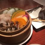 resort dining Se Relaxer - イモ豚のせいろ蒸し