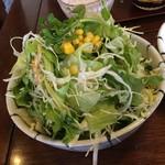 91054320 - 仁亭 大きさがわかりづらいですが、大量の野菜です