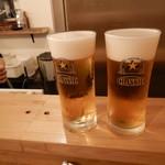 タチグイヤキニク トッチ - ビール