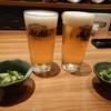 居酒屋 肴や - 料理写真:ビールで乾杯