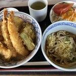 エデン - 天丼セット¥1000