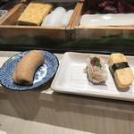 鮨・割烹 花絵巻 - 稲荷、鱧、玉子!