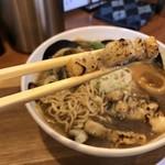 小麦蕎麦処 四天王寺 五常 - 鰻の白焼き