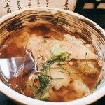 蕎麦遊膳 花吉辰 - 鯛の漬け茶漬け