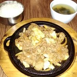 ハンアリ - 鉄板レッドプルコギ定食