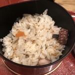 udonizakayaamamenzou - 定食のタコ飯