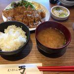 炙り牛たん万 - 豚の生姜焼き定食