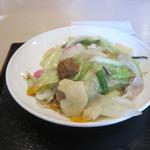 中華菜館かたおか - 特製皿うどん(細麺)