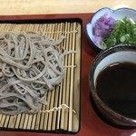 蕎麦処 竹もり - 料理写真:ざるそば
