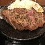 キセキ食堂 - 料理写真:キセキ定食のステーキ:これが食べたかった