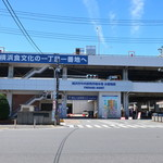 ナダヤ - 横浜市中央卸売市場本場水産部の正門