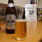 もみじや - アサヒスーパードライ中瓶