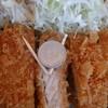 あげや - 料理写真:とんかつ定食750円(お肉100g)