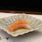 寿司割烹・難波 - 甘海老