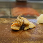 寿司割烹・難波 - 白貝