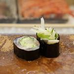寿司割烹・難波 - 小鰭