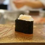 寿司割烹・難波 - 白海老