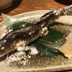 たら福 - 若鮎の汐焼
