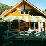 町田あいす工房 ラッテ - 三角屋根がアビーさんも書いているように高原のアイス屋さんを思わせます。ファサードのトリコローレ色のテントもかわいい。