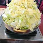 びわこ食堂 - とりやさい鍋     ¥700